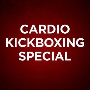 cardio kickboxing special