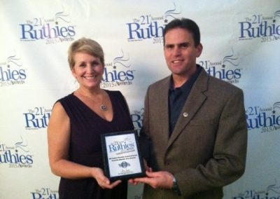 accepting ruthies award