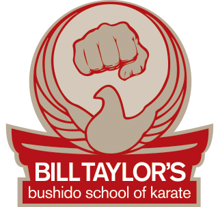 bill taylor's bushido school of karate logo