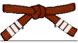 Brown Belt 3rd